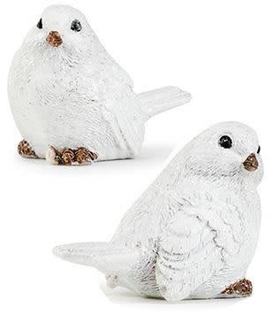 Set of 2 Mini Winter Birds