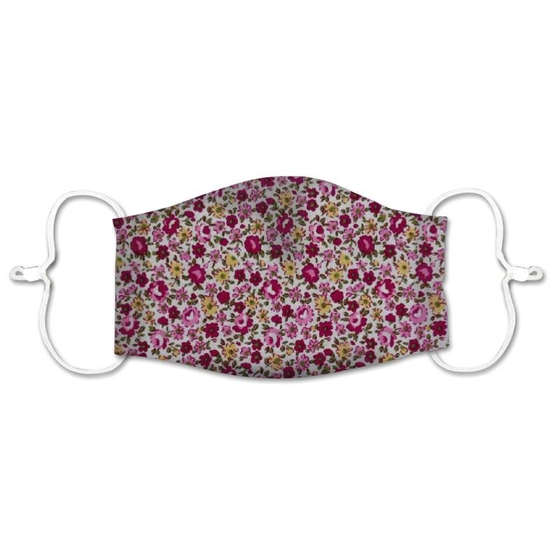 Floral Print Cotton Face Mask