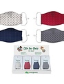 Polka Dot Cotton Face Mask (4 Colors)