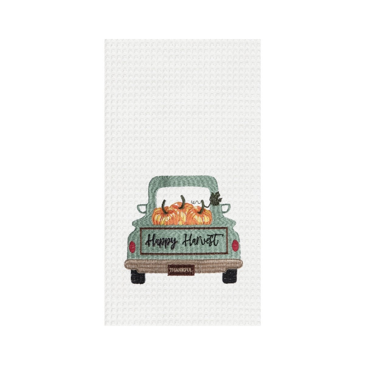 Happy Harvest Truck Kitchen Towel