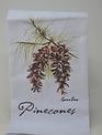 Pinecones On Branch Towel