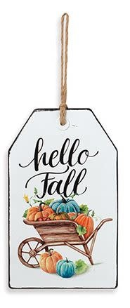 Enamel Harvest Tag Sign (3-Styles)