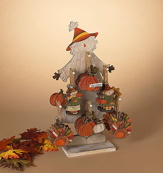 Wooden Harvest Ornament