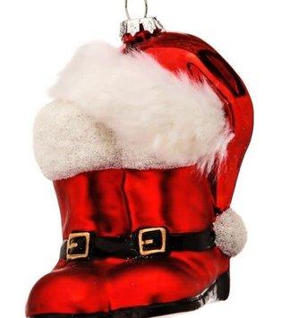 Santa Boots and Hat Ornament