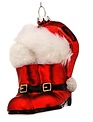 Santa Boots and Hat Ornament