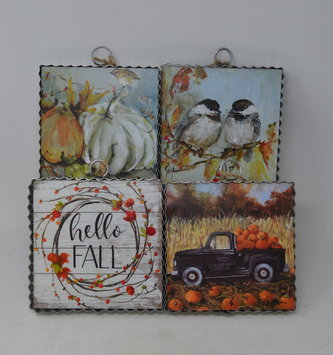 Small Autumn Painted Print (4-Styles)