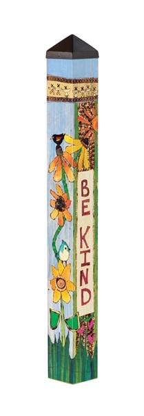3' Be Kind Peace Pole