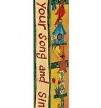 4' Feed The Birds Peace Pole