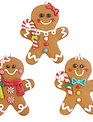 Iced Ginger Bread Ornament (3-Styles)