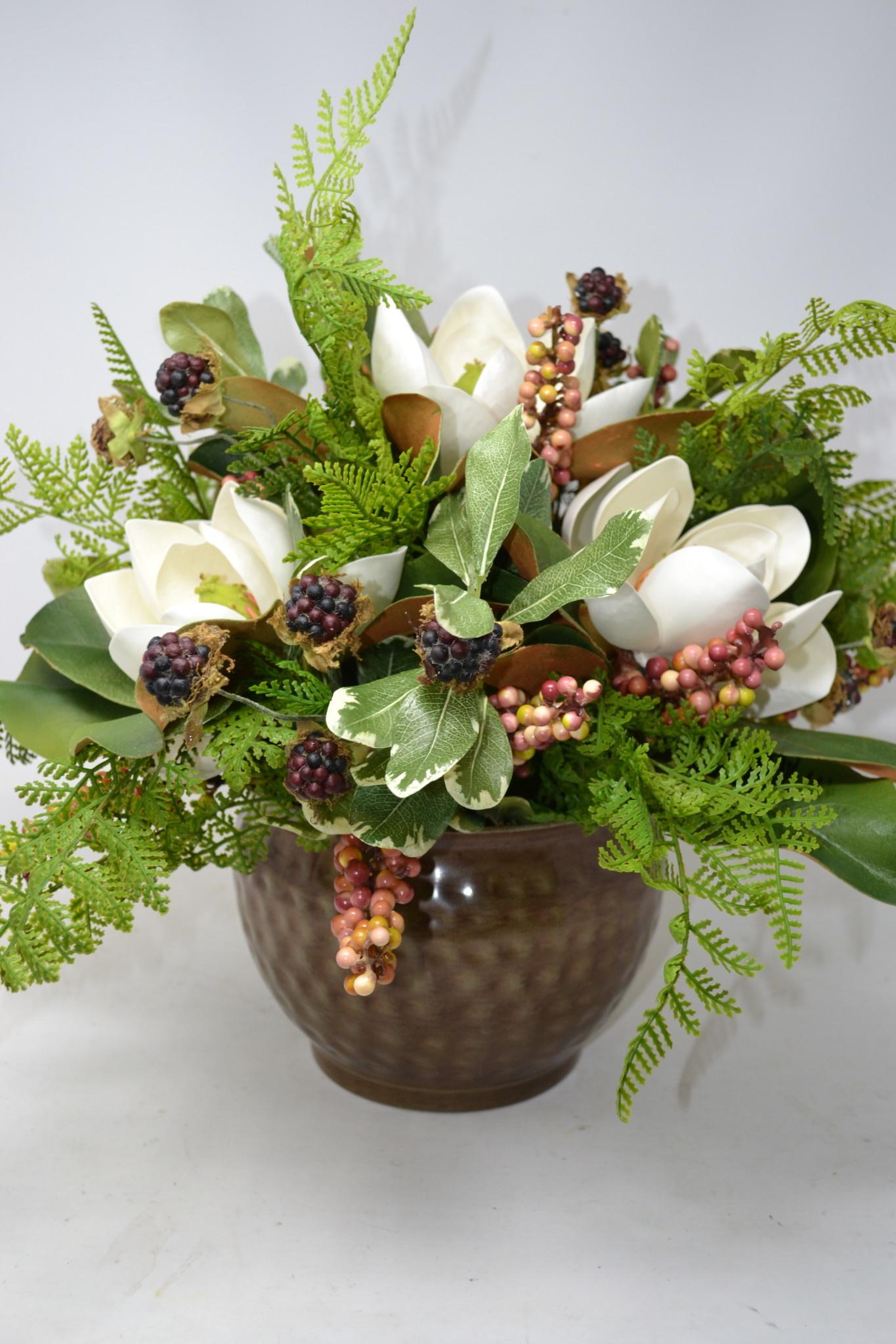 Custom Magnolia with Berries