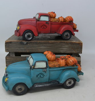 Thankful & Blessed Harvest Pumpkin Truck (2-Colors)