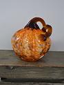 Small Bountiful Handblown Glass Pumpkin (3-Styles)