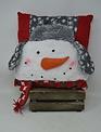 Winter Snowman Pillow (2-Styles)