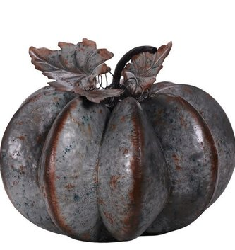 XL Galvanized Pumpkin