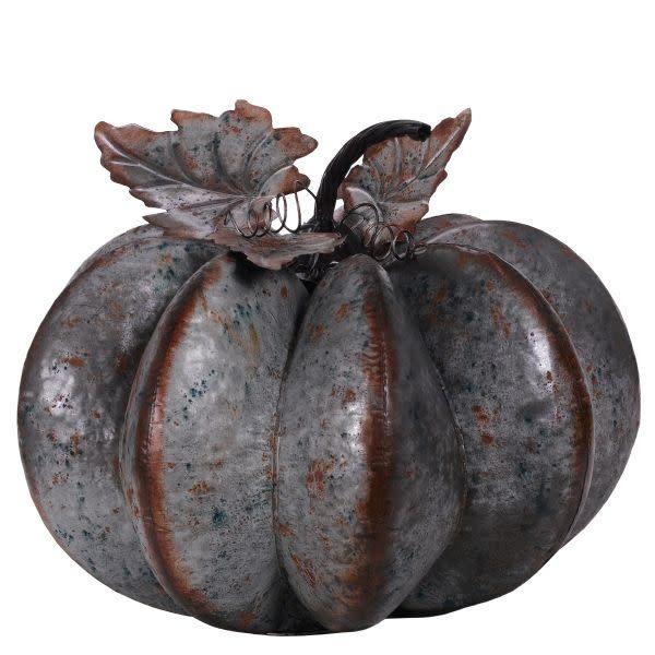 XL Galvanized Pumpkin