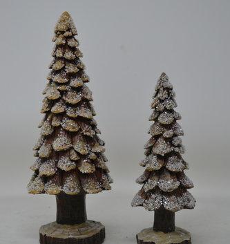 Iced Pine Cone Tree (2-Sizes)