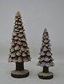 Iced Pine Cone Tree (2-Sizes)