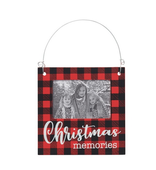 Christmas Memories Photo Frame Ornament