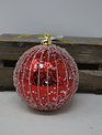 Glitter Drip Ball Ornament