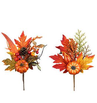 Pumpkin Leaf Pick (2-Styles)