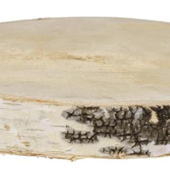 Natural Birch Slice