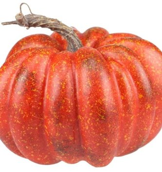 "7.25"" Red Pumpkin"