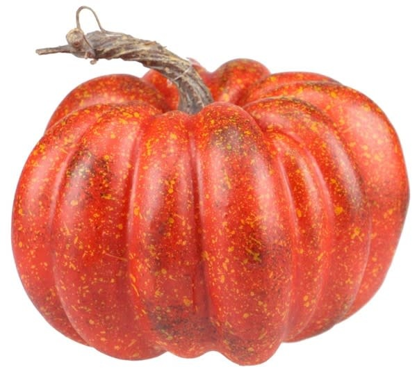 """7.25"""" Red Pumpkin"""