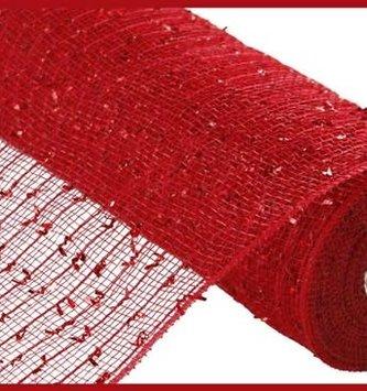 Red Laser Foil Mesh