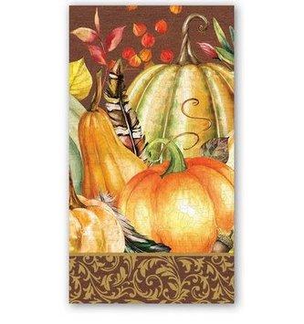 Sweet Pumpkin Hostess Napkin