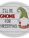 Christmas Gnome Sign (4-Styles)