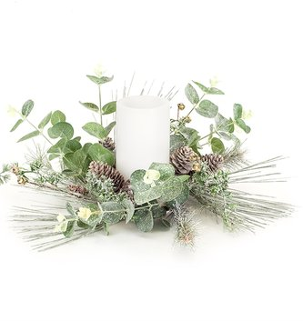 Pine & Eucalyptus Candle Ring