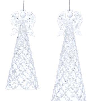 Beaded Glass Angel (2-Sizes)