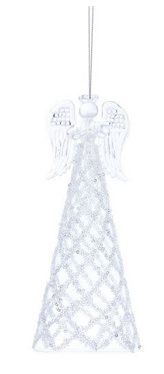 Beaded Glass Angel (2-Sizes)