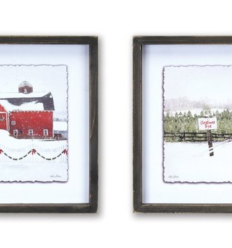 Snowy Sleigh Ride Print (2-Styles)