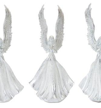 Whitewashed Angel w/ Majestic Wings