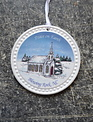 Round White Blowing Rock Ornament (9-Styles)