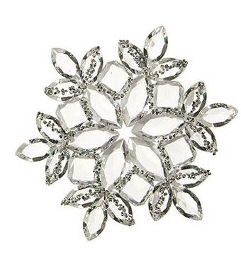 """5"""" Shimmer Snowflake Ornament (2-Styles)"""