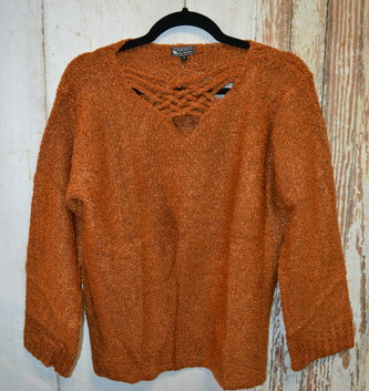 Celtic Burnt Orange Sweater (4-Sizes)
