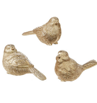 "4"" Gold Bird (3-Styles)"
