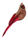 Female Cardinal Clip Ornament