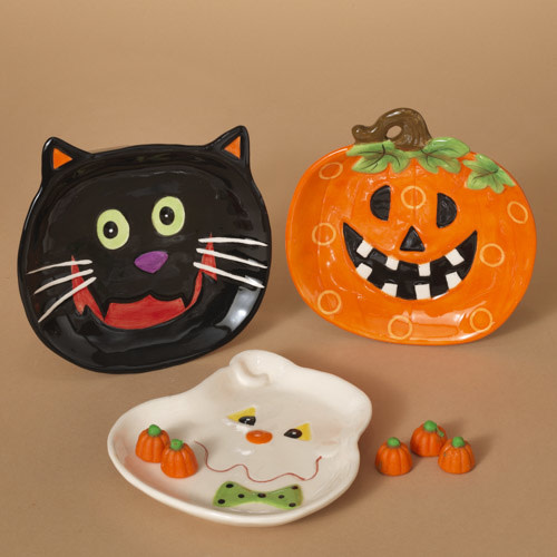 Whimsical Halloween Dish (3-Styles)