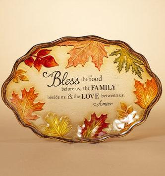 Blessings Fall Prayer Platter