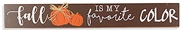 Fall Harvest Block Sign