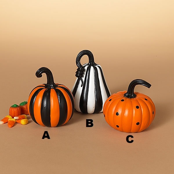 Small Whimsical Pumpkin (3-Styles)