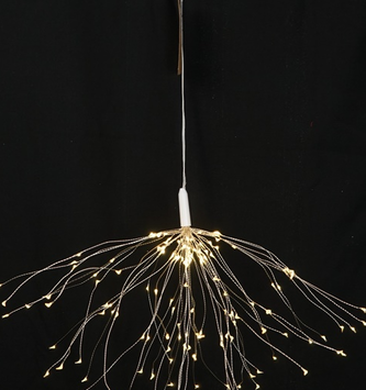 LED Silver 50 Strand Starburst Light