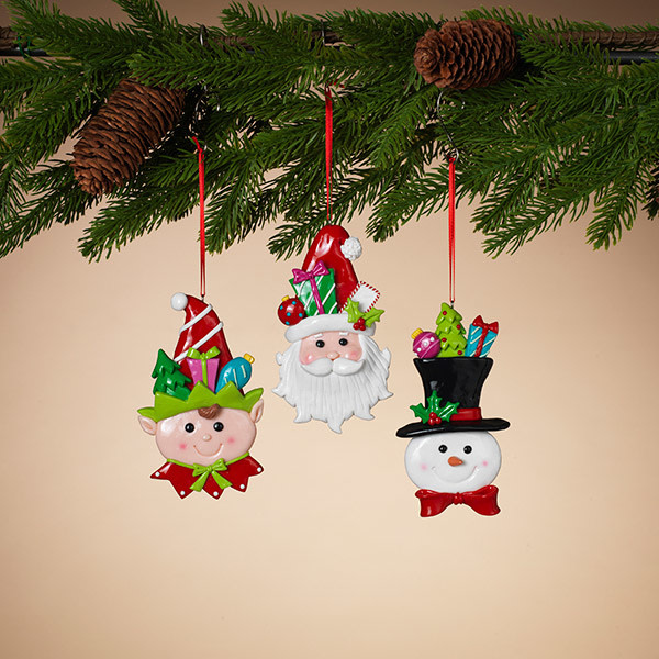 Clay Christmas Ornament (3-Styles)
