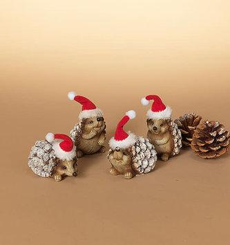 Woodland Christmas Hedgehog (4-Styles)