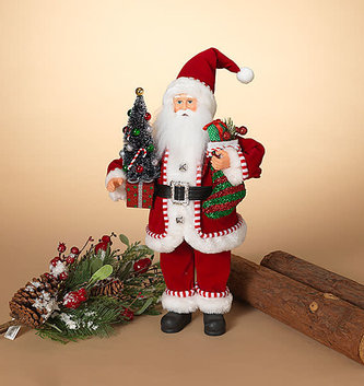 "18"" Traditional Holiday Santa"