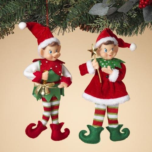 Pixie Elf Ornament (2-Styles)