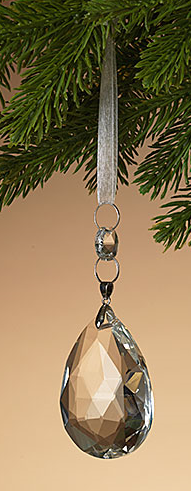 Teardrop Prism Ornament (3-Styles)